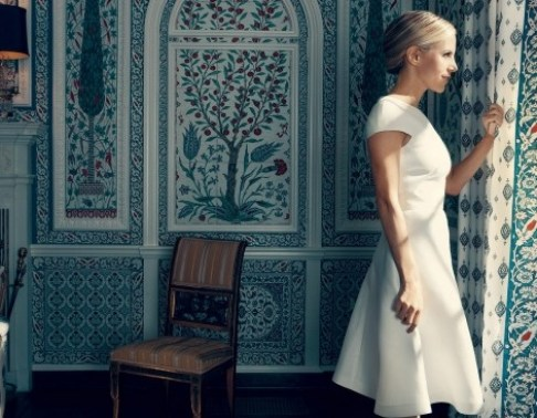 Tory Burch's Home via Vogue
