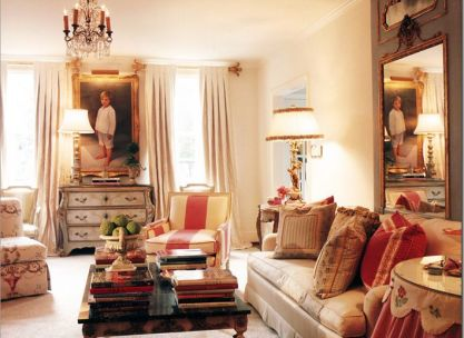 Beautiful antiques by Suellen Gregory via Cote de Texas