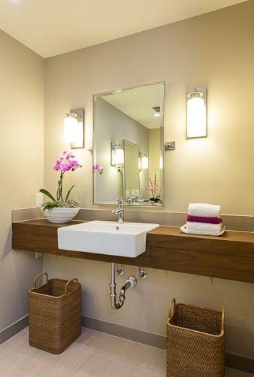 Contemporary Handicap Bathroom via Pinterest