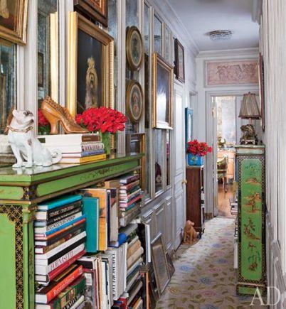 Iris Apfel's NY home in AD