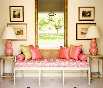 Pretty in Pink Spitzmiller lamps