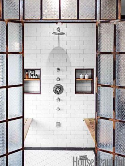 A Spanish Revivial Bathroom by Deirdre Doherty via House Beautiful