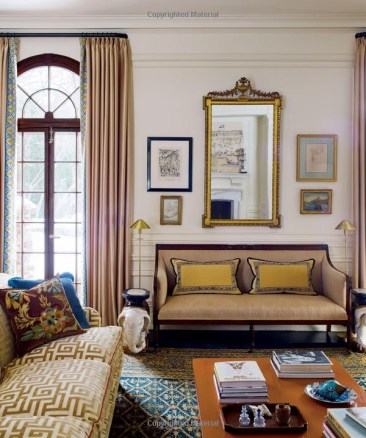A fantasitcally patterned and collected room by Katie ridder via her book Rooms