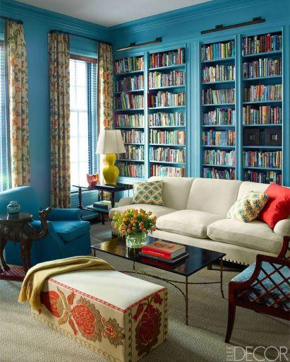 Katie Ridder's NYC home via Elle Decor