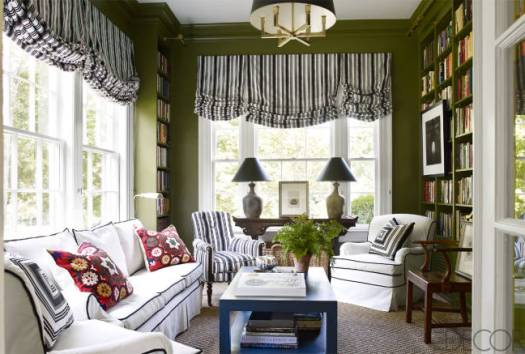 A striking sunroom in Nashville by Brookschmidy and Coleman in Elle Decor