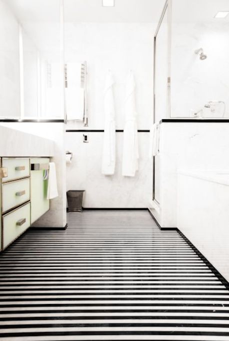 Bathroom of the Mark Hotel by Jacques Grange