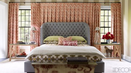 Connecticut County bedroom by Thom Flicia via ED