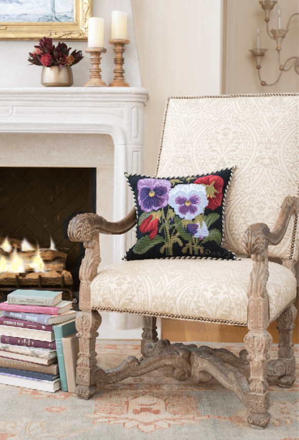 Detailed Design of Elizabeth Bradley Home Pillows