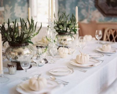 Phenomenal tablescape of Mark D Sikes via Lonny