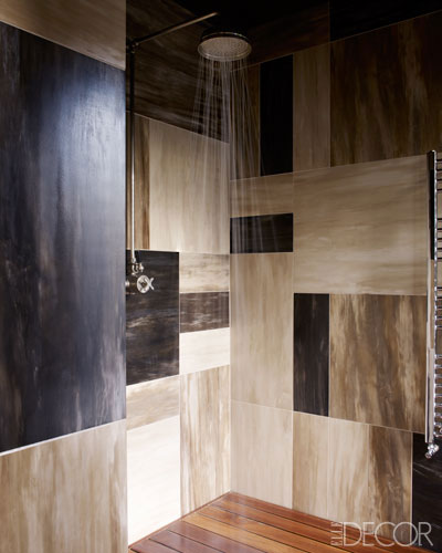 Shower desigend by Hubert Zandberg via ED