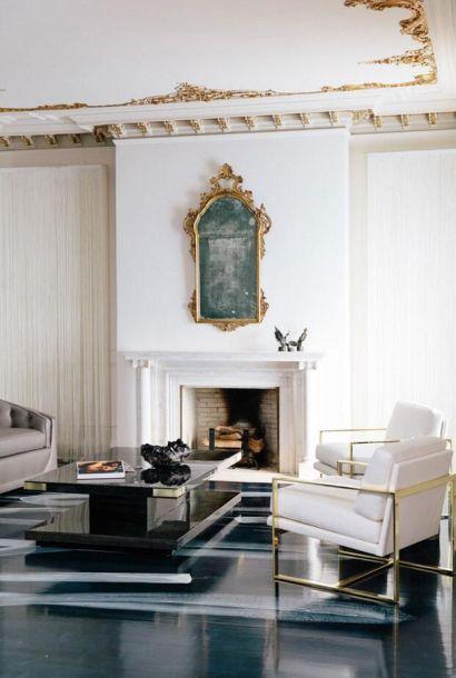 Sleek San Fran space and fireplace in Veranda