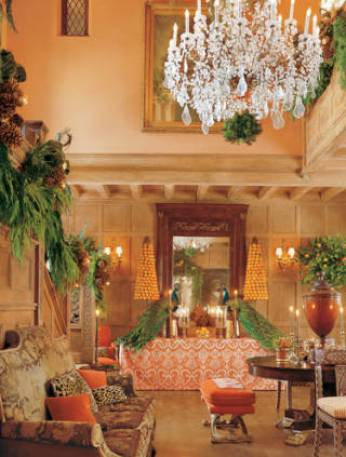 Mary McDOnald home for Christmas via Veranda
