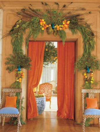 Mary McDonald Christmas via Veranda
