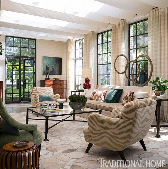 Charleston Home by Lisa Hilderbrand via Tradtional Home 4