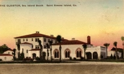 Cloister Hotel in Sea Island designed by Mizner
