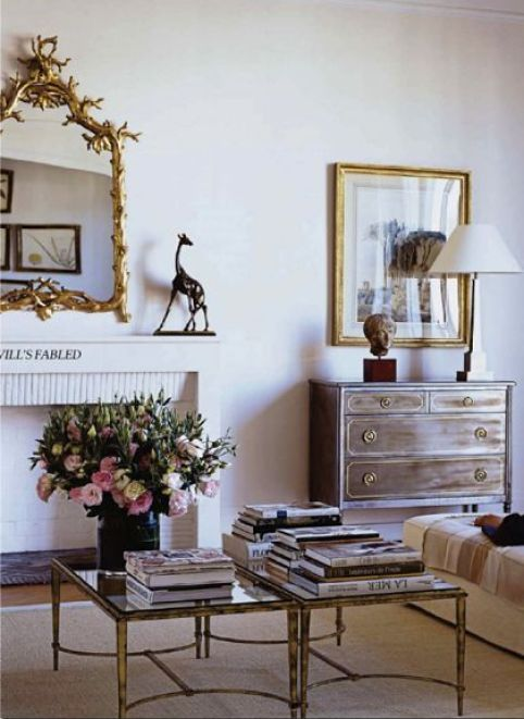 Lee Radziwill Paris Apartment via T Magazine