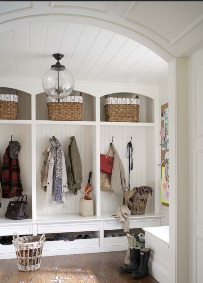 Great mud room via Houzz