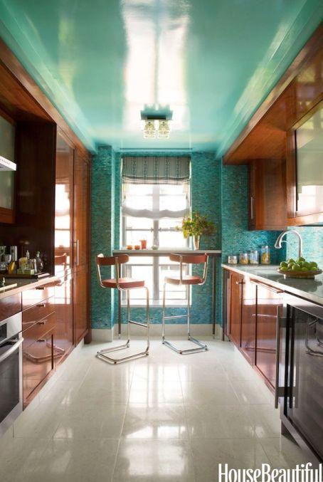 NYC kitchen by Philip Gorrivan via House Beautiful