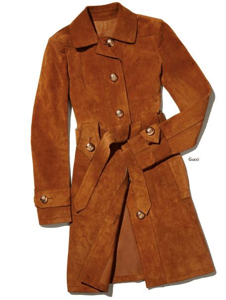 Net a Porter Suede Coat