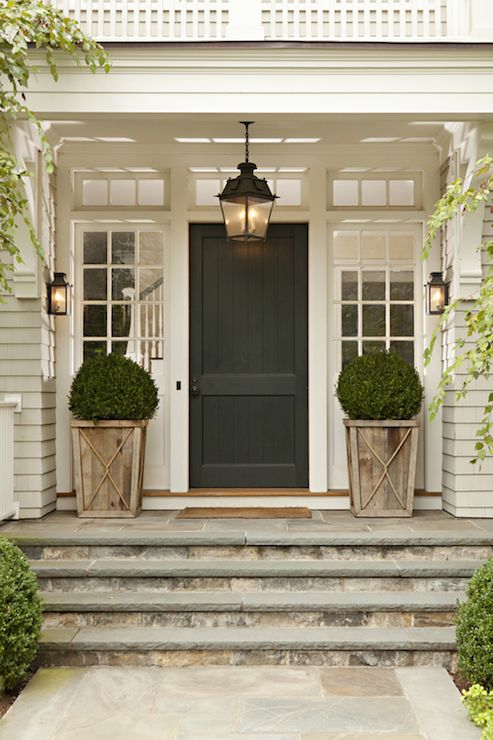 Thorton designs, sconces by the front door