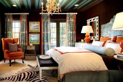 Bedroom designed by Sheila Brides