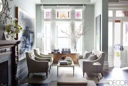 Living room by Sheila Bridges
