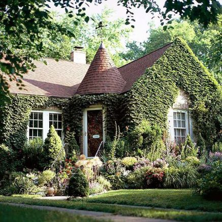 Ivy covered home via BHG