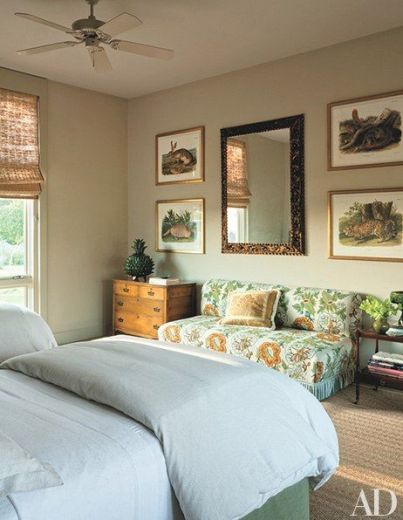 Bush Guest Room via AD