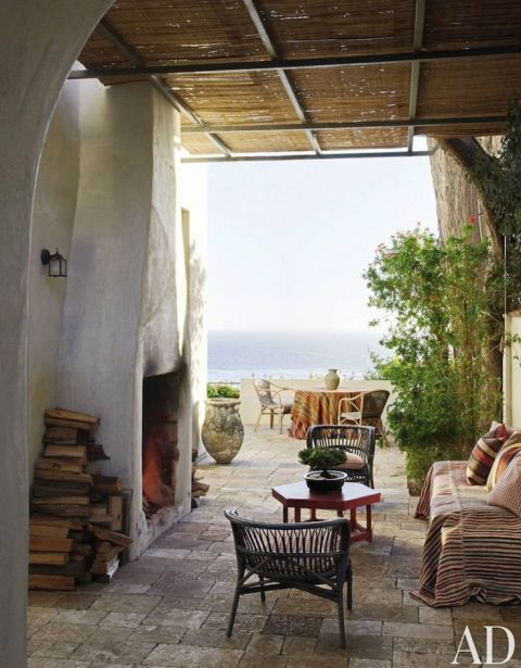 Richard Shapiros Malibu House via AD