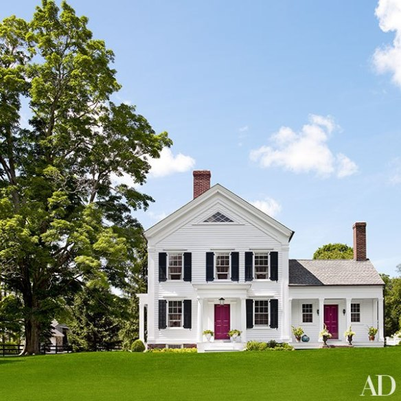 Spitzmiller and Sam Allens home at Clove Brook Farm via AD