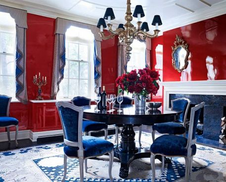 Dining room by Kemble Interiors
