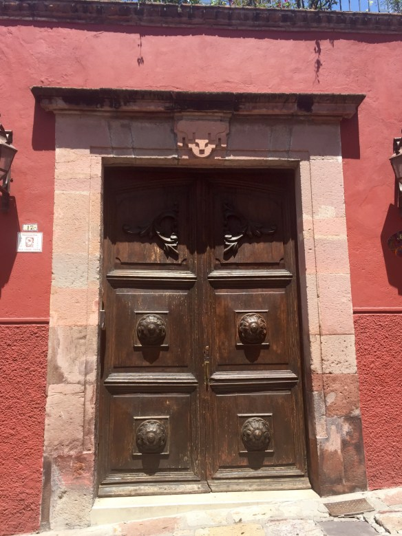 Doors of San Miguel by The Potted Boxwood 5