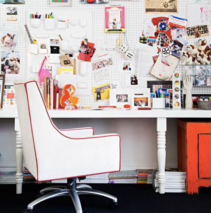 Office Space via Domino Magazine