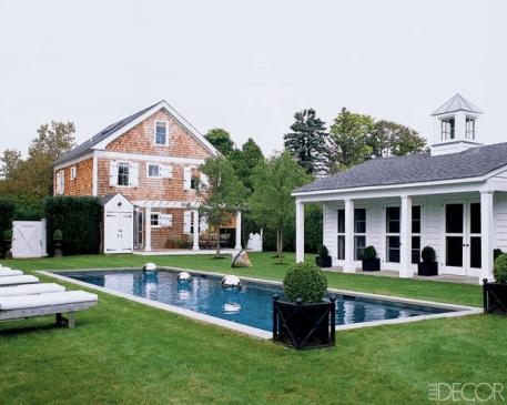 Gorgeous Hamptons Retreat via Elle Decor
