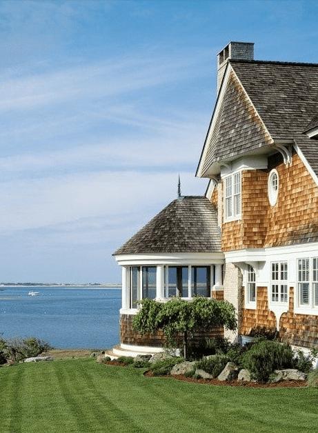 Gorgeous water view home via Pinterest
