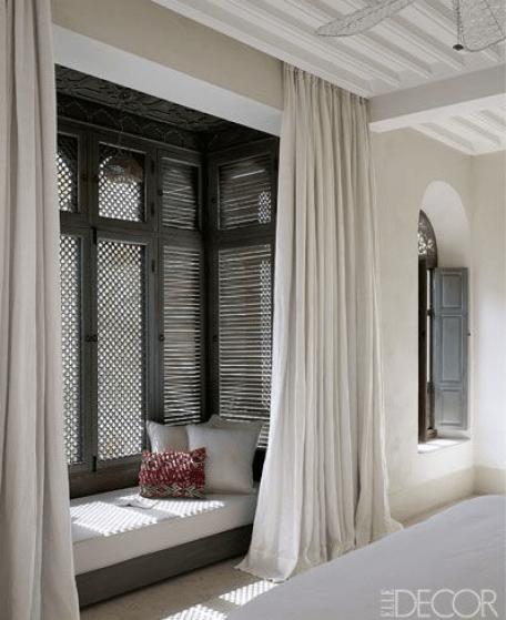 Moroccan Influence via Elle Decor