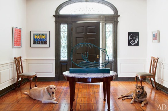 Philadelphia residence by Thomas Jayne via AD