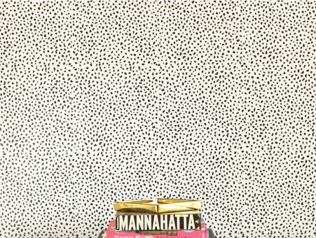 Black and White Speckly Removable Wallpaper from Chasing Paper