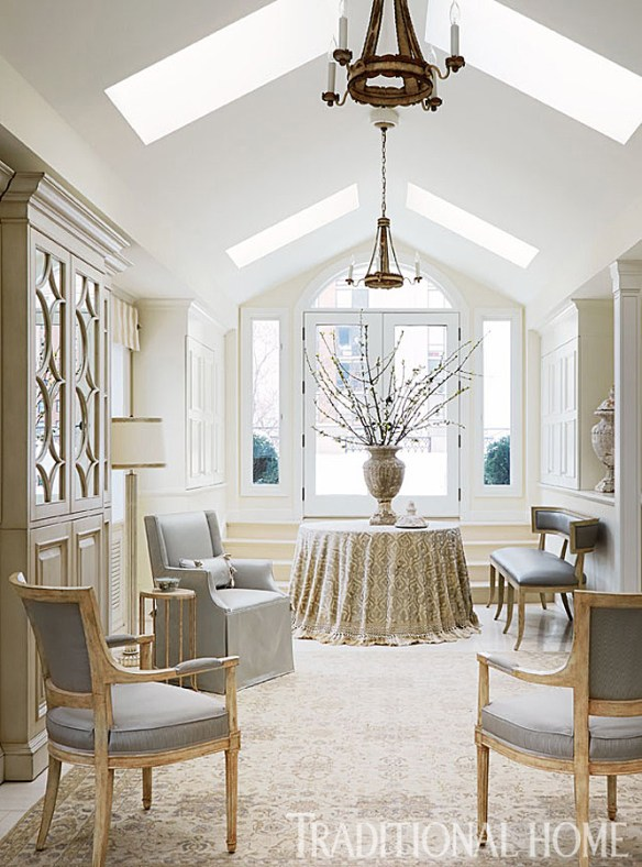 Chicago Townhouse via Traditional Home 9