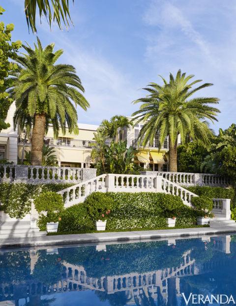 Palm Beach Home via Veranda 9