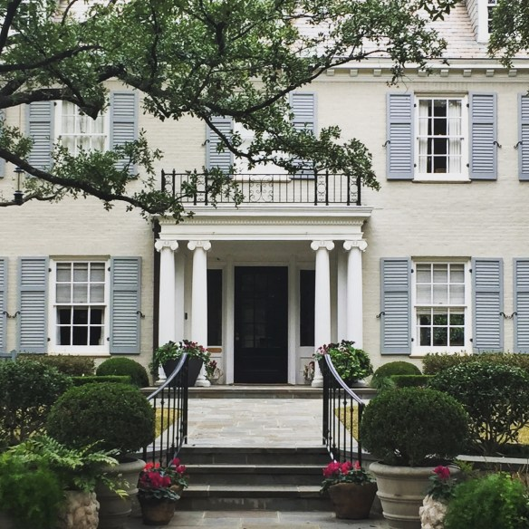 Dallas Home by Christina Dandar for The Potted Boxwood