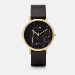 Black Marble and Gold watch by CLUSE