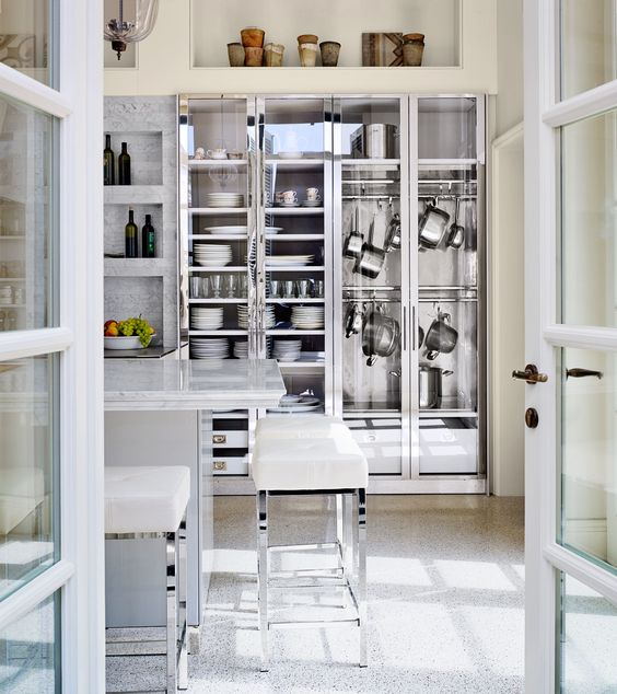 Kitchen by Mick de Giulio via AD