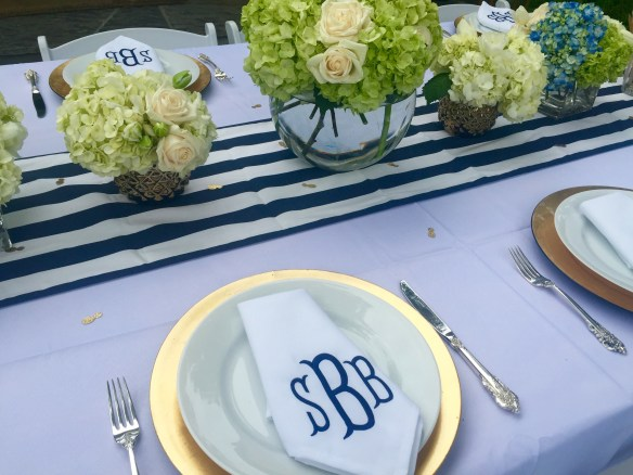 Preppy Bridal Shower on The Potted Boxwood