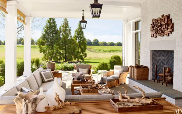 outside living area by Steven Gambrel via AD