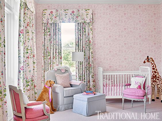 beautiful-feminine-nursery-by-carolyn-griffith-via-traditional-home