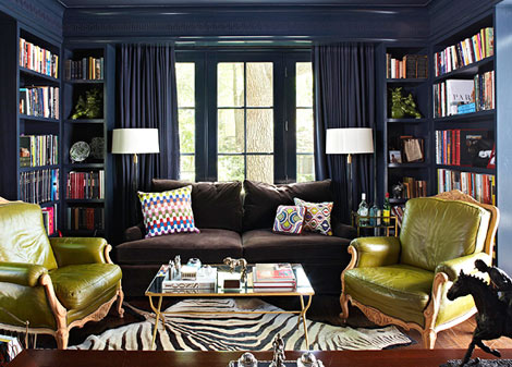 navy-library-in-hale-navy-by-justin-whitman-via-traditional-home