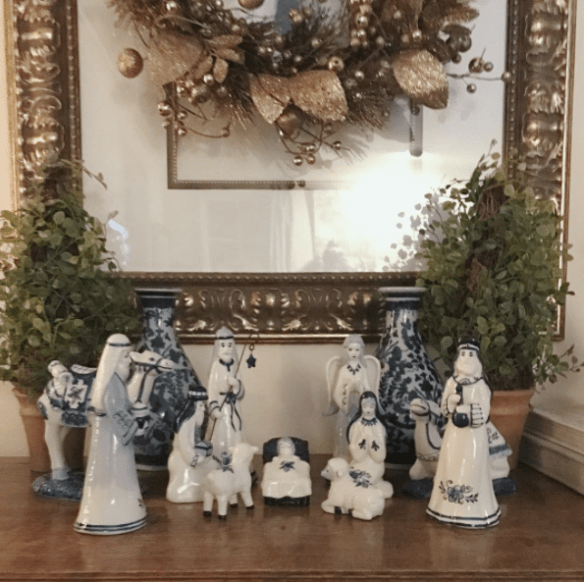 beautiful-blue-and-white-nativity-set-at-the-home-of-jennifer-from-the-belclaire-house-blog