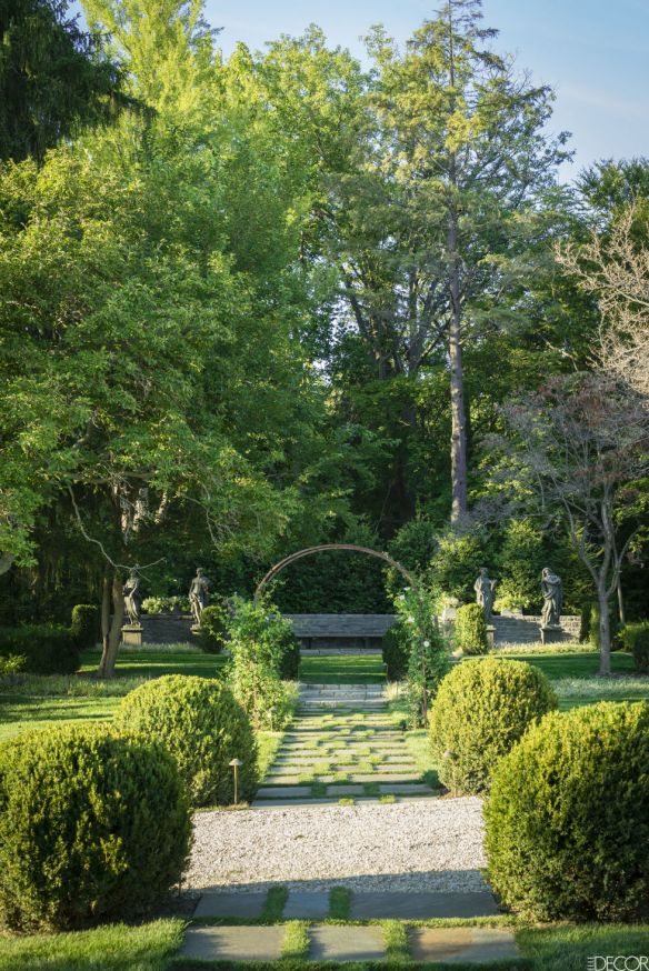 Robert Duffy Ferncliff Estate via Elle Decor. 2