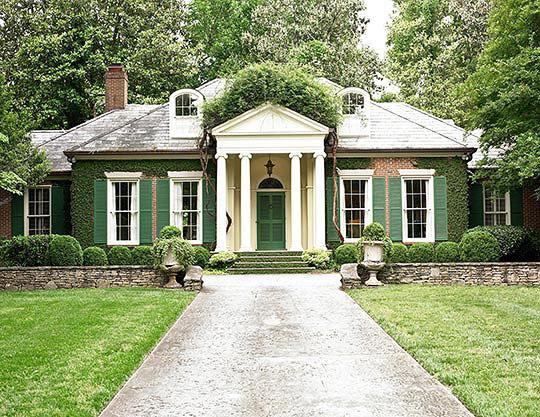 Atlanta Home by Norman Askins via Traditional Home